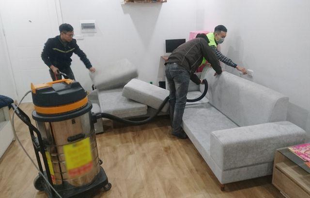 Giặt thảm, giặt ghế sofa giá rẻ tại đường Hồng Bàng, quận 5 TPHCM